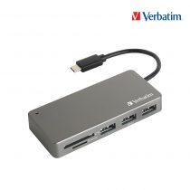 Verbatim USB 3.1 Type C Hub讀卡器 65679