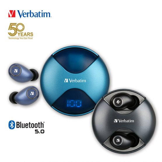 Verbatim TWS Bluetooth 5.0 真無線藍牙耳機