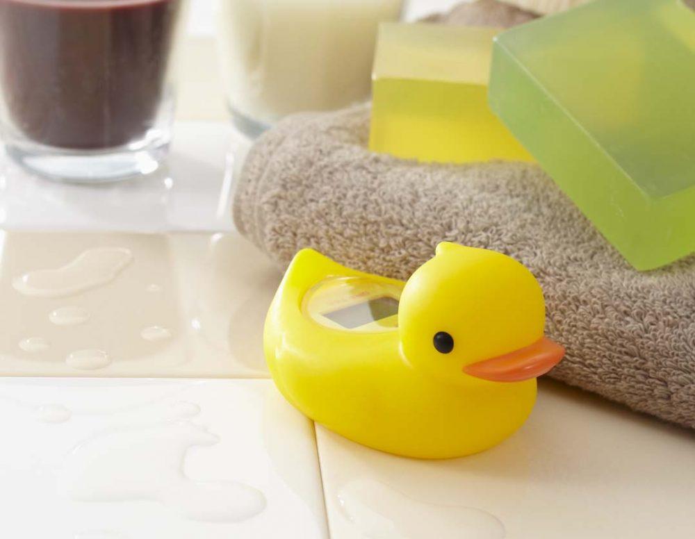 日本 Dretec Duck's Gar-kun 數字浴溫度計