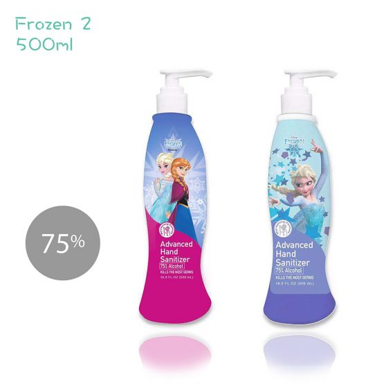 迪士尼 Frozen 75% 免洗酒精搓手液 500ml