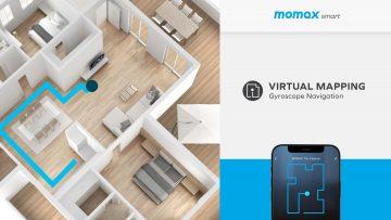 MOMAX Trio-Cleanse IoT 智能紫外光掃拖機械人 RO1S