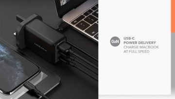 Momax One Plug 3-USB Gan 65w 充電器 UM20