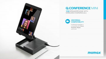Momax Q.Conference 會議喇叭連無線充電 BS2