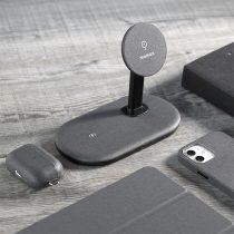 Momax Q.Mag Dual 二合一磁吸桌面無線充 UD20-5